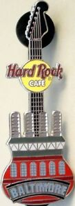 Hard-Rock-Cafe-BALTIMORE-2003-Power-Plant-GUITAR-PIN-Catalog-15563-Mint-New