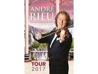 2 Andre Rieu Tickets for this this friday! Fantastic Seats!