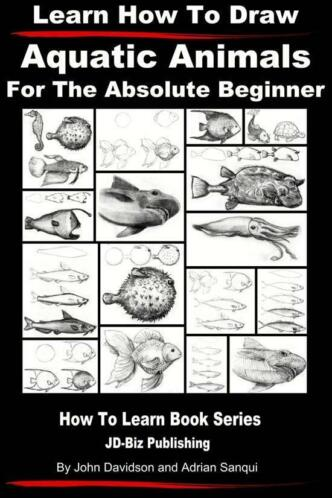 Learn How to Draw Aquatic Animals