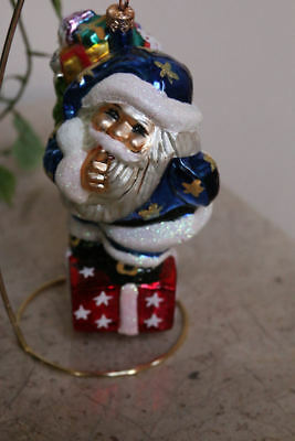 "RARE ~ CHRISTOPHER RADKO LARGE 7"" * SECRET SANTA * ORNAMENT - #99-076-0"