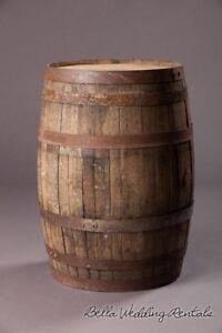 ISO whisky barrel