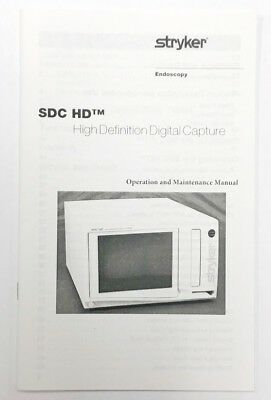 User Manual - Stryker Sdc Ultra Digital Capture