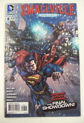 WB SMALLVILLE * SEASON 11 * Comic Book # 8 ~ 1ST PRINT ~ NIGHTWING  BATMAN