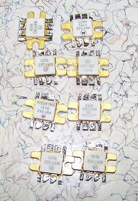 Vintage Motorola Larcan Mrf392 Srf3856 Push Pull Power Transistors