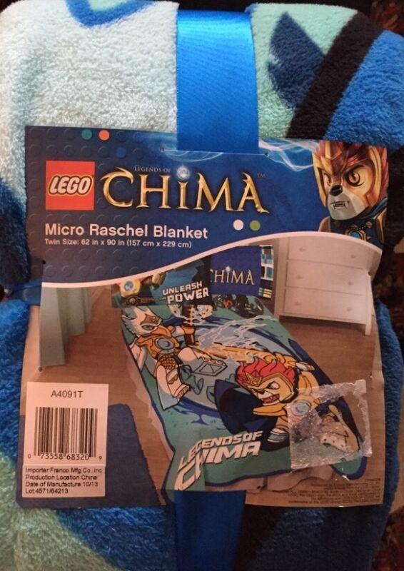 Купить LEGO LEGENDS OF CHIMA MICRO RASCHEL PLUSH BLANKET на eBay.com ...