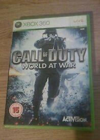 Xbox 360 Call Of Duty World At War