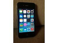 iPhone 4 16GB UNLOCKED Black -- Excellent condition