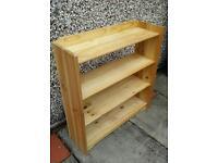 Sturdy Pine Wood Shelving Unit/ Shelf