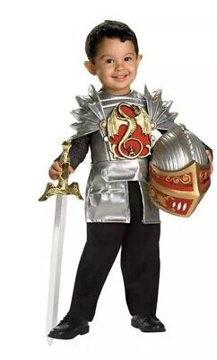 Disguise Boys' 3 Piece Brave Knight Toddler Halloween Costume Size 2T - Brave Toddler Costume