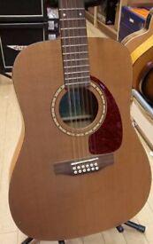 Preowned Simon & Patrick 12 String Acoustic Guitar