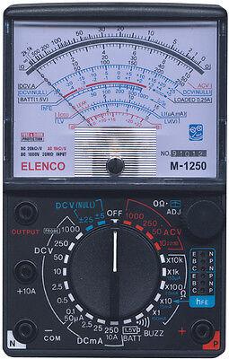 Elenco M-1250k 20kv Analog Multimeter Diy Kit Soldering Version