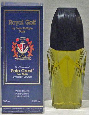 Royal Golf By Jean Philippe Paris Mens Eau De Toilette 3.3 Fl. Oz. In Box