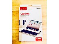 Carbon Bluetooth Keyboard Case for IPad (brand new)