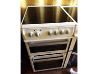 HOTPOINT White 50cm Freestanding electric cooker - Delivery Available