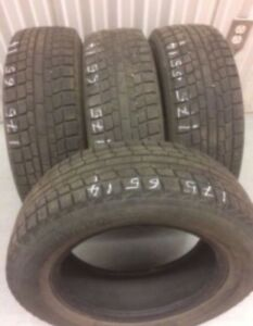 4 Yokohama winter tires:175/65R14