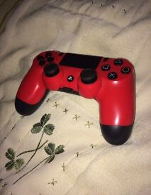 MAGMA RED PS4 CONTROLLER