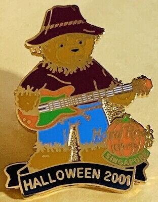 pore 2001 Halloween Pin Vogelscheuche Teddybär Spielen (Halloween Pin Spiele)