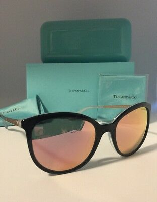 91e204bb04eb TIFFANY   CO. AUTHENTIC WOMEN S MIRRORED SUNGLASSES(4117-B 8193 4Z)