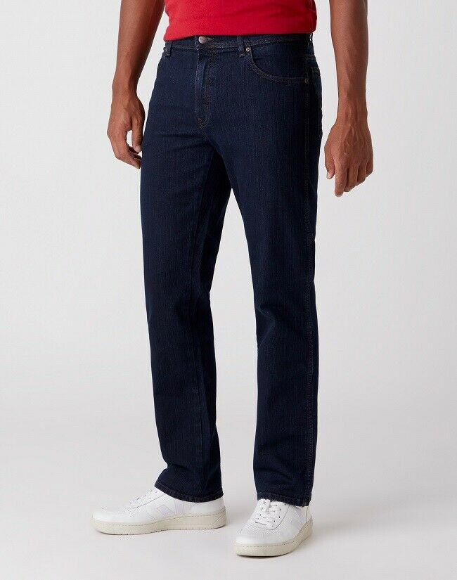 WRANGLER ® TEXAS Stretch BLUE BLACK W12175001 Jeans Herren Denim Hose