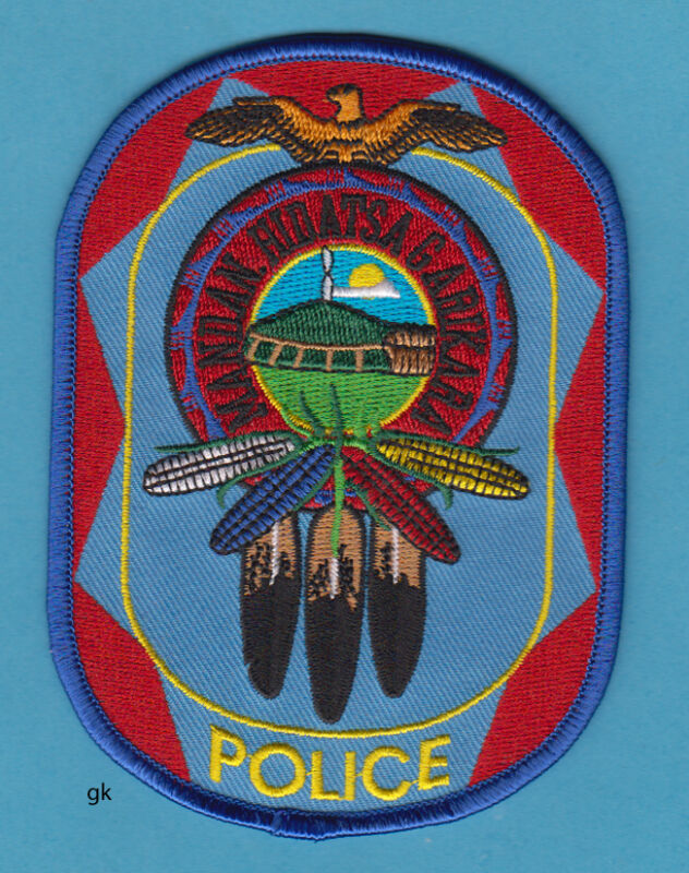 THREE AFFILIATED TRIBES NORTH DAKOTA TRIBAL MANDAN HIDATSA  POLICE  PATCH