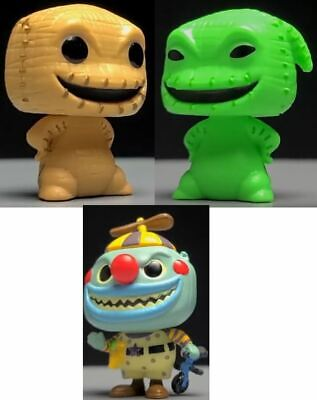 Funko Pop Nightmare Before Christmas Advent Calendar 3X Figures Oogie Boogie SET