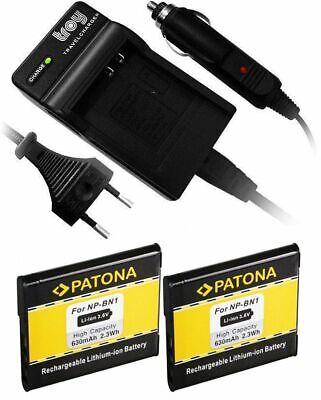 Ladegerät+ 2 Akku für SONY Cybershot NP-BN1 DSC-WX50 WX100 WX150 W320 W830 TF1 online kaufen