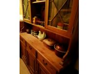 Vintage Pine Dresser 1980s