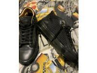 Android Homme Men black boots (size 44)