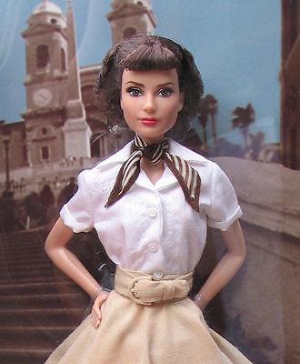 2013-Audrey-Hepburn-Roman-Holiday-Barbie-Doll- X8260