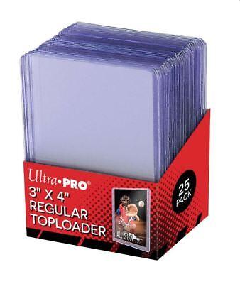 (25) Ultra-Pro Regular Topload Trading Card Holders Toploaders For Sports Cards for sale  Shipping to Nigeria