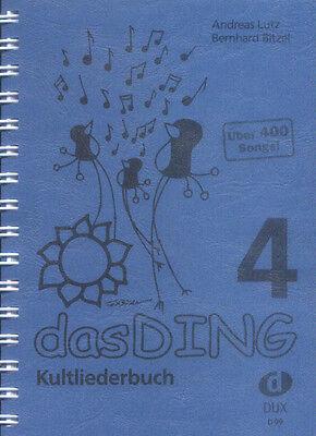 Das Ding 4 Kultliederbuch Songbook für Gitarre