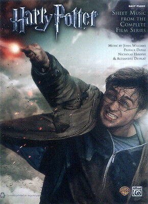 Harry Potter Complete 1-7 Songbook Noten für Klavier leicht Easy Piano