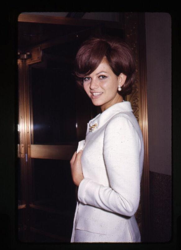 Claudia Cardinale Rare Candid 1960