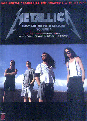 Best of Metallica for Easy Guitar Songbook Noten Tab für Gitarre leicht