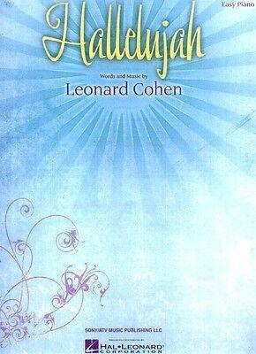 Hallelujah Leonard Cohen Noten für Klavier leicht Easy Piano