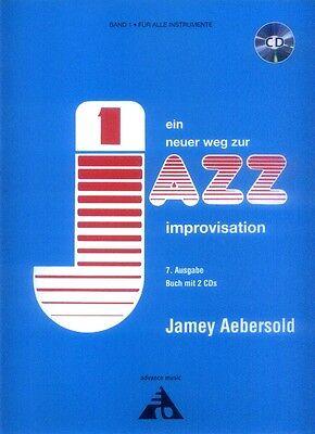 Jamey Aebersold 001 Ein neuer Weg zur Jazz Improvisation deutsch Noten mit 2 CDs