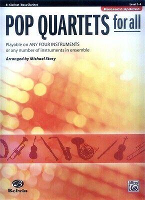 Pop Quartets for All Klarinette Clarinet Bb Noten