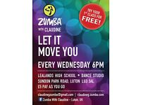 Zumba Classes - Try it for FREE 26th July, 2017
