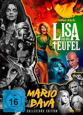 Lisa und der Teufel [Blu-ray/Mediabook/NEU/OVP](+ 2 Bonus-DVD's) Mario Bava
