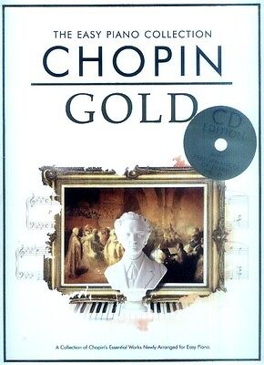 Chopin Gold The Easy Piano Collection Noten für Klavier mit CD leicht-mittel