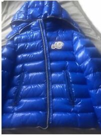 Boys Blue Genuine Moncler Jacket Age 14