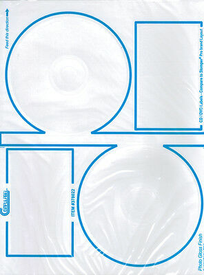Glossy Finish Compulabel 5-inch Cd Labels Stomper Pro 200-pak 378022