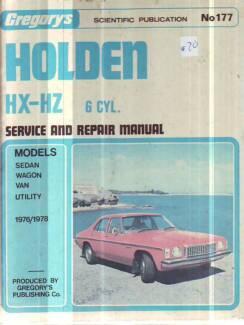 Hz holden workshop manual gumtree australia free local classifieds holden hx hz 6 cyl workshop service repair manual sciox Gallery