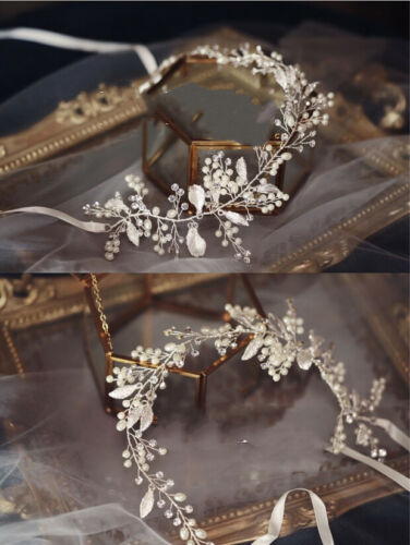 Envoie-Moi Bridal Accessories Silver Leaves and Fruits Hair Vine/Band