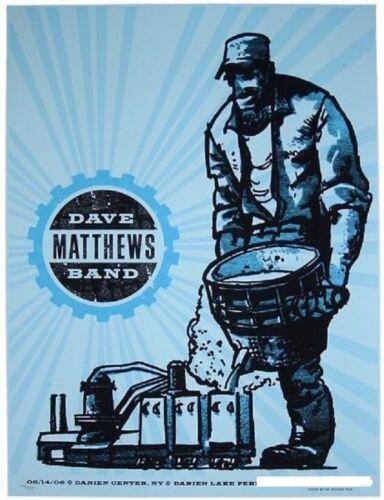 Dave Matthews Band Poster 6/14/2006 Darien Lake NY Numbered #/250 Rare!