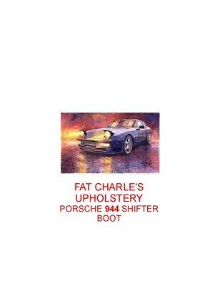Porsche 944 Shifter Boot Cover Vinyl