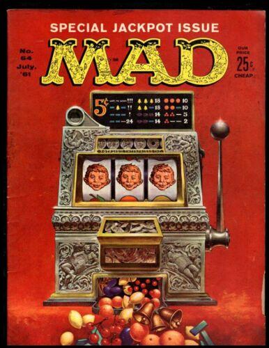 MAD MAGAZINE #64 VG  1960 EC (FREE SHIPPING ON $15 ORDER!)