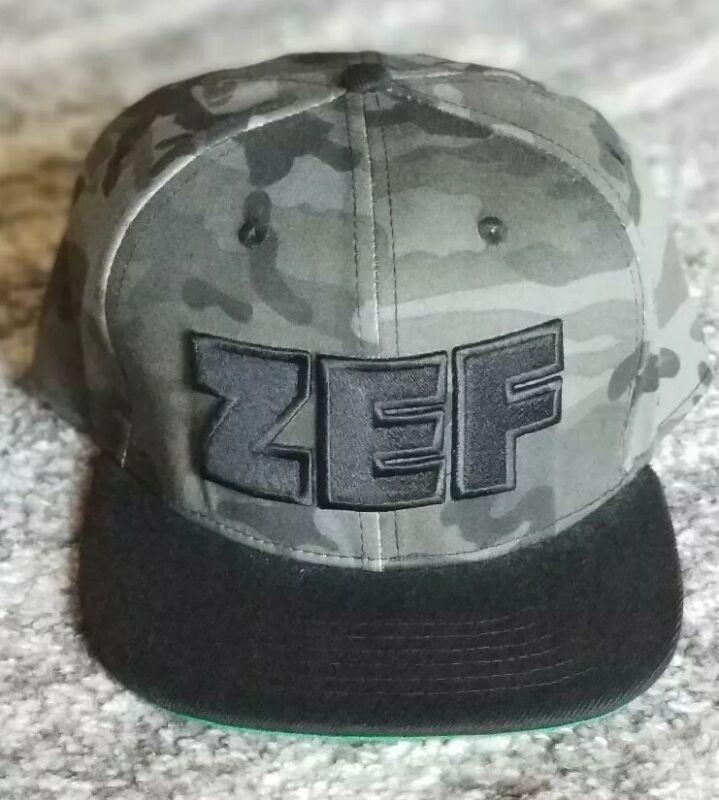 Die Antwoord Official ZEF Camo Hat