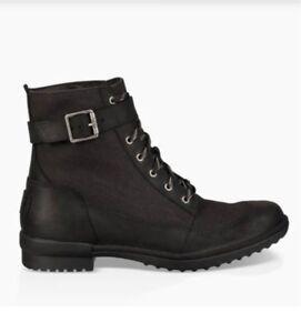 UGG black winter boot 6.5 new