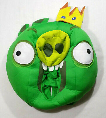Angry Birds King Pig Head Adult Costume One - Angry Birds Halloween Kostüme